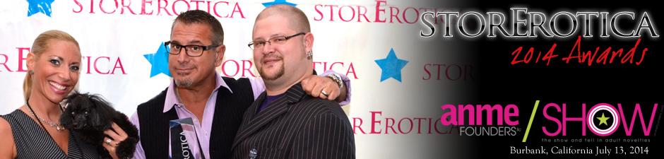 Sliquid at the StorErotica 2013 Awards