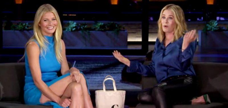 Gwyneth Paltrow & Chelsea Handler - Sliquid Organics Natural Gel - GOOP