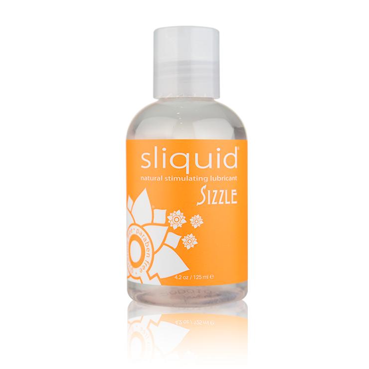 Sizzle - Sizzle 4oz - Natural Stimulating Lubricant