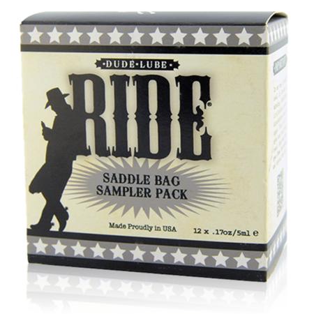 Saddle Bag Cube - Ride Dude Lube - Sliquid
