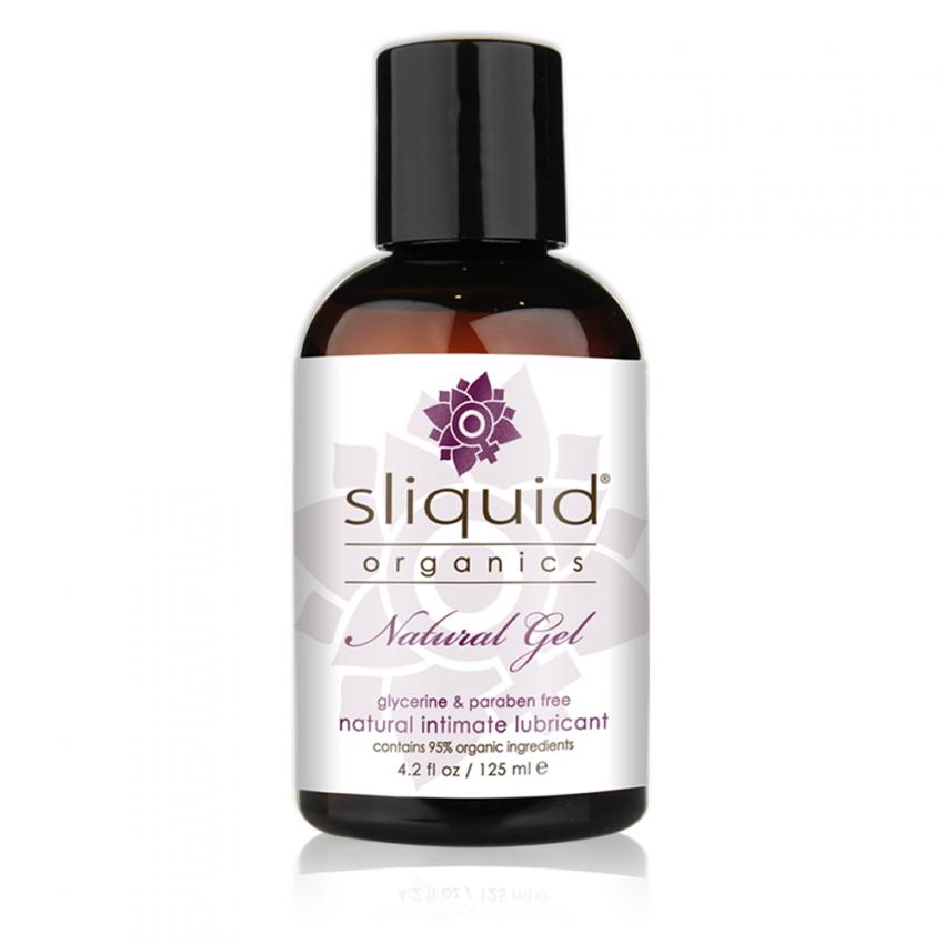 Sliquid Organics - Natural Gel - Organic Gel Lube - 4oz