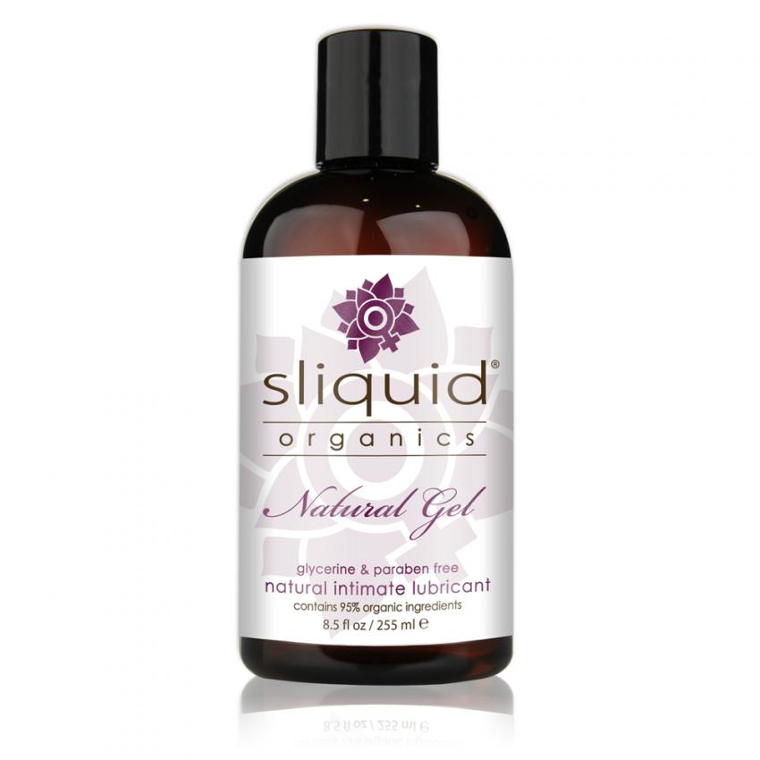 Sliquid Organics - Natural Gel - Organic Gel Lube - 8oz