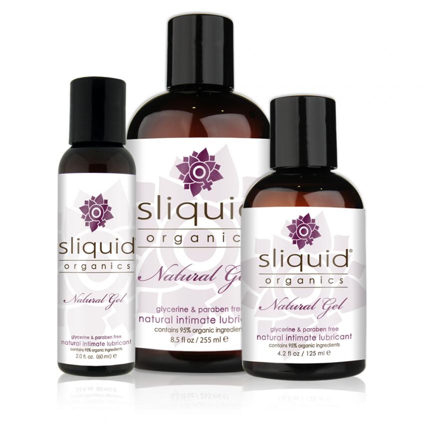 Sliquid Organics - Natural Gel - Organic Gel Lube - Group Photo