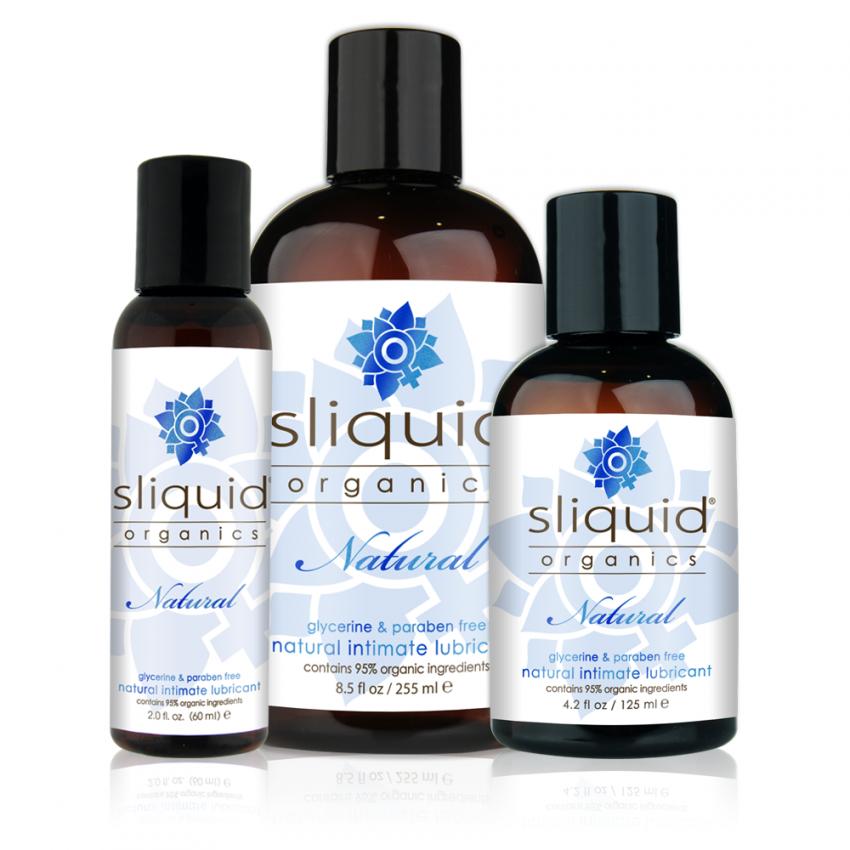 Sliquid - Sliquid Organics Natural - Organic Lube - Group Shot