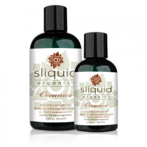 Sliquid - Sliquid Organics Oceanics - Organic Lube with Seaweed - Group Shot