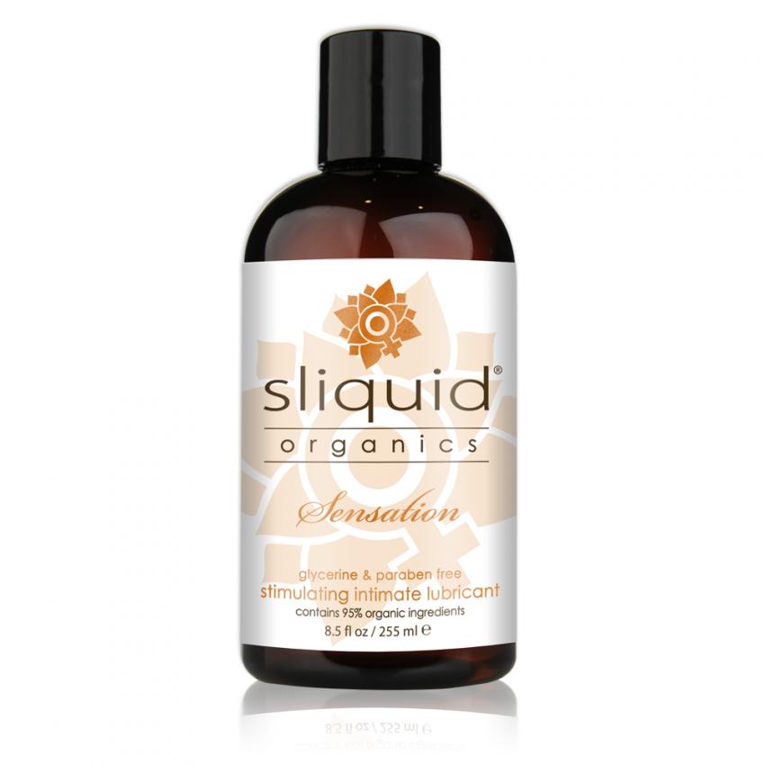Sliquid - Sliquid Organics - Sensation - Organic Stimulating Lube - 8oz