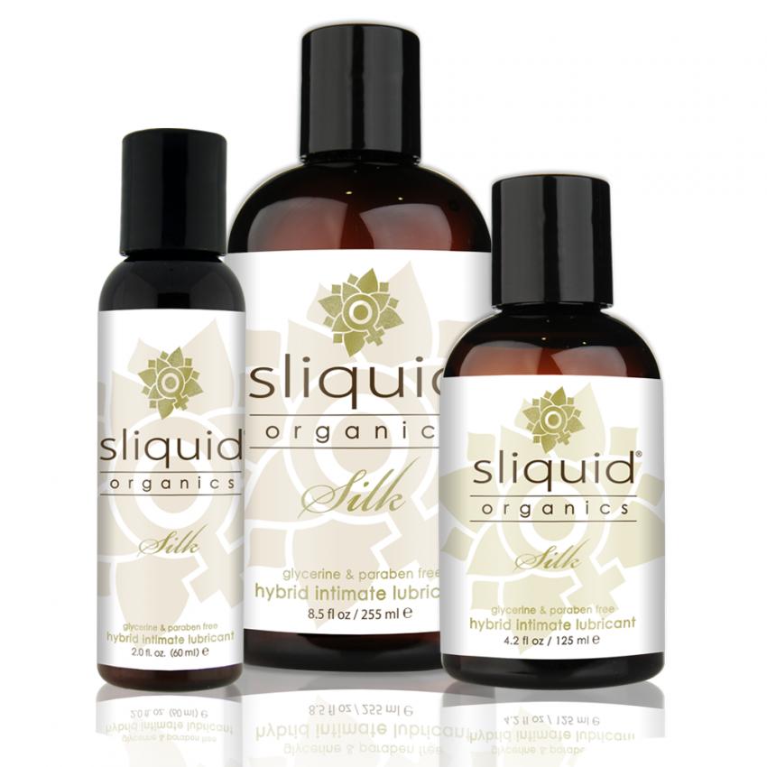 Organic Hybrid Lube - Sliquid - Sliquid Organics - Group Picture