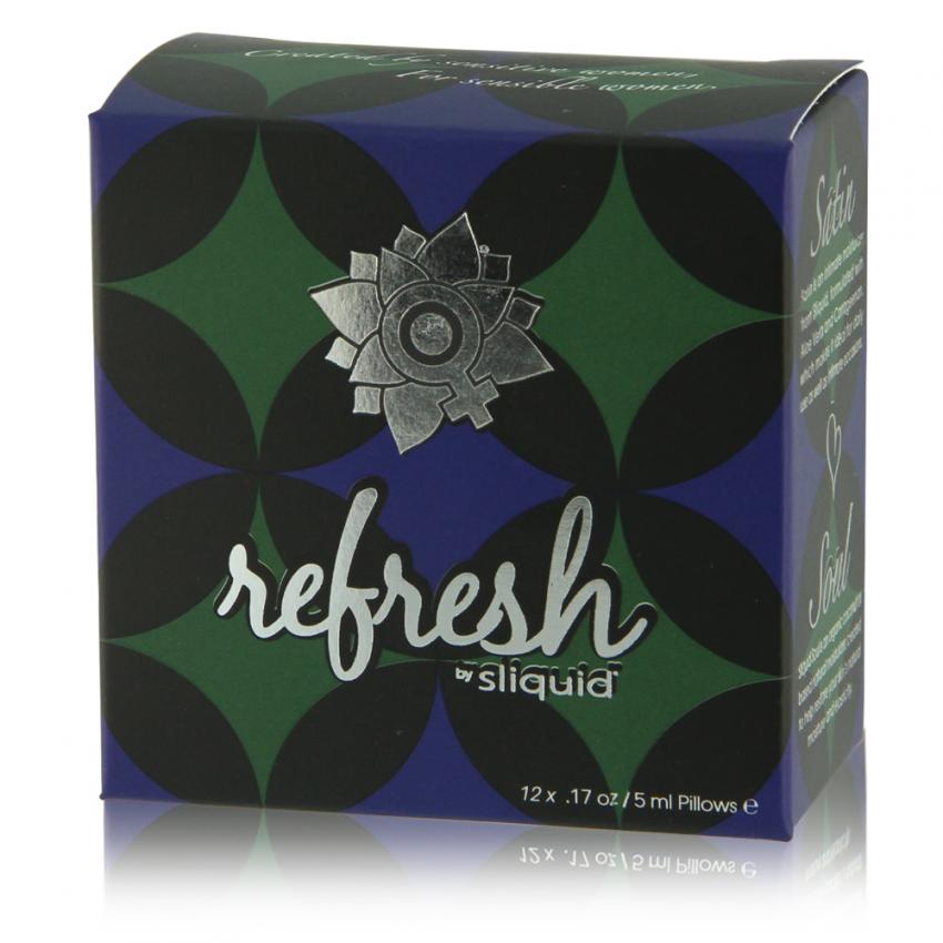 Refresh Cube - Sliquid - Sliquid Natural Lubricants - Satin - Soul
