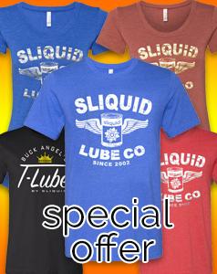 Sliquid T-Shirt Offer