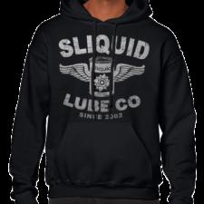 Lube Co.Black/Silver Unisex Hoodie