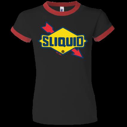Sliquid Retro Logo Baby Doll T Shirt