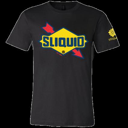 Sliquid Retro Logo T Shirt